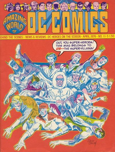 Cover for The Amazing World of DC Comics (DC, 1974 series) #11