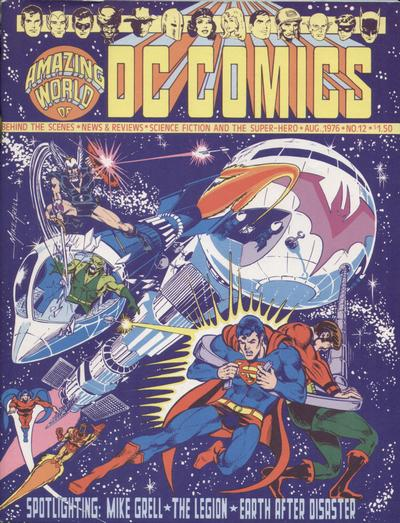 Cover for The Amazing World of DC Comics (DC, 1974 series) #12