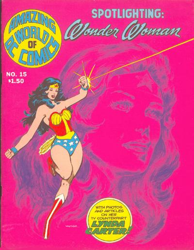 Cover for The Amazing World of DC Comics (DC, 1974 series) #15
