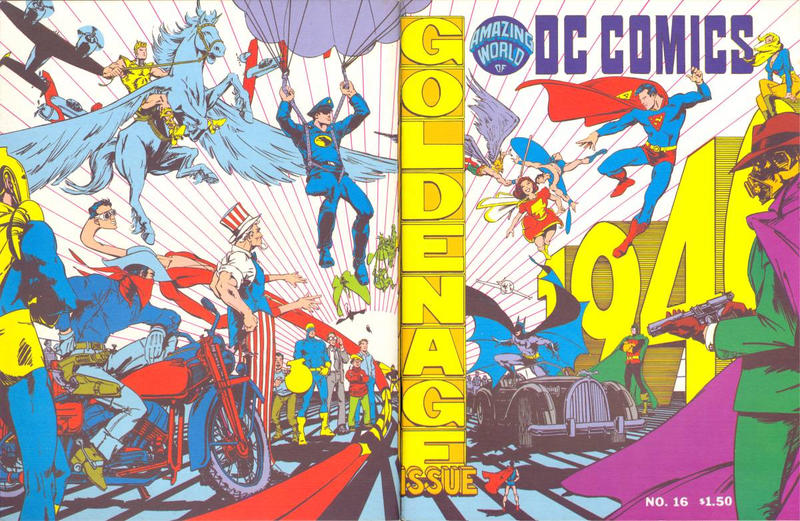 Cover for The Amazing World of DC Comics (DC, 1974 series) #16