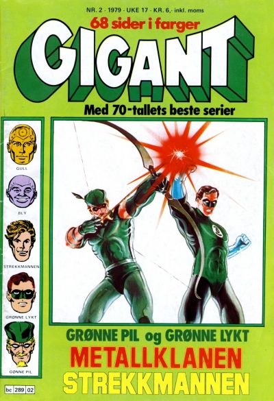 Cover for Gigant (Semic, 1977 series) #2/1979