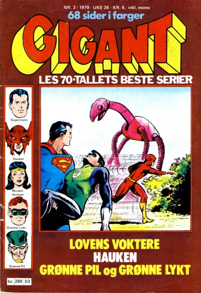 Cover for Gigant (Semic, 1977 series) #3/1979