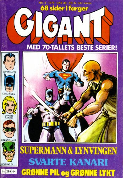 Cover for Gigant (Semic, 1977 series) #4/1979