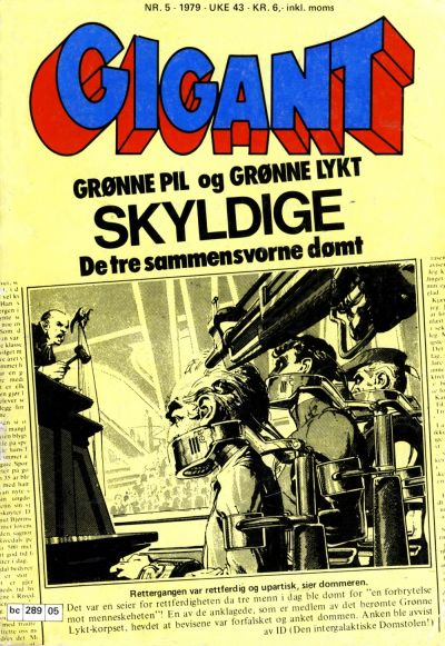 Cover for Gigant (Semic, 1977 series) #5/1979