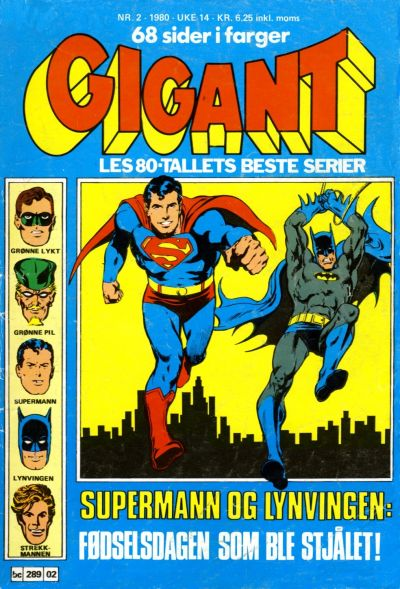 Cover for Gigant (Semic, 1977 series) #2/1980
