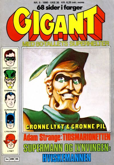 Cover for Gigant (Semic, 1977 series) #5/1980