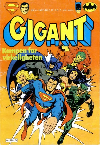 Cover for Gigant (Semic, 1977 series) #4/1981