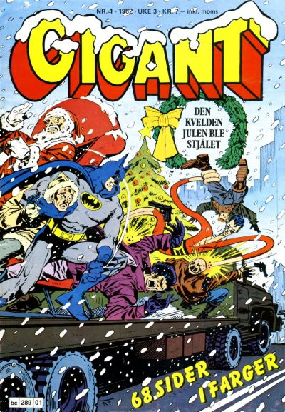 Cover for Gigant (Semic, 1977 series) #1/1982