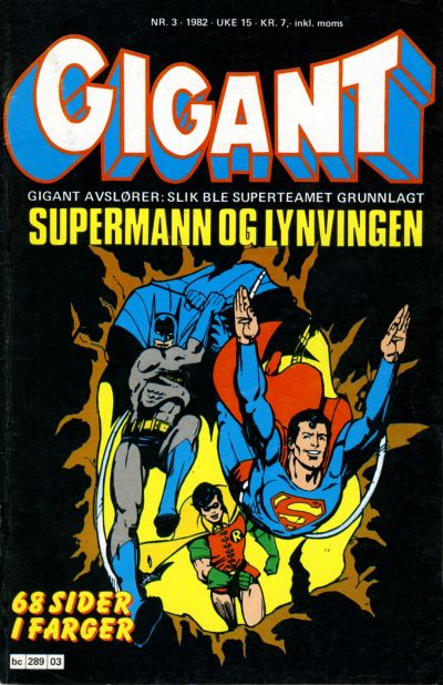 Cover for Gigant (Semic, 1977 series) #3/1982