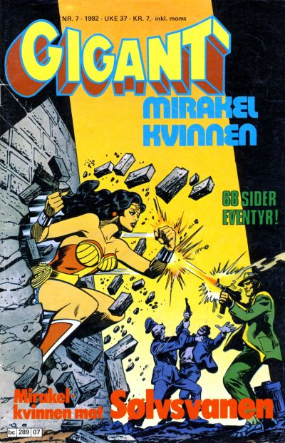 Cover for Gigant (Semic, 1977 series) #7/1982