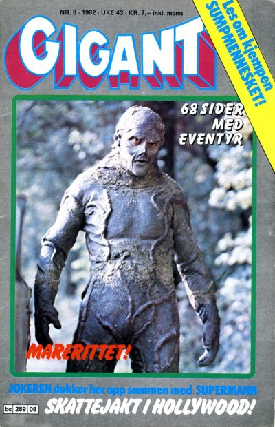 Cover for Gigant (Semic, 1977 series) #8/1982