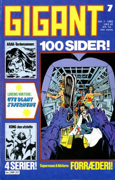 Cover for Gigant (Semic, 1977 series) #7/1983