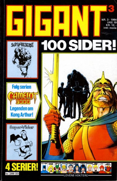 Cover for Gigant (Semic, 1977 series) #3/1984