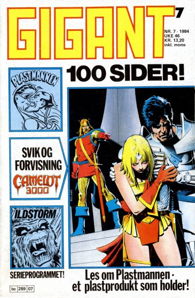 Cover for Gigant (Semic, 1977 series) #7/1984