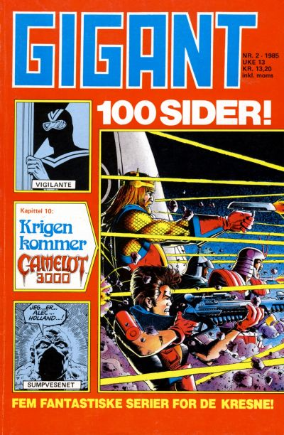 Cover for Gigant (Semic, 1977 series) #2/1985