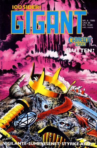 Cover for Gigant (Semic, 1977 series) #4/1985