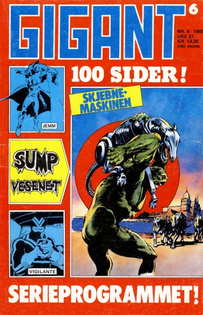Cover for Gigant (Semic, 1977 series) #6/1985