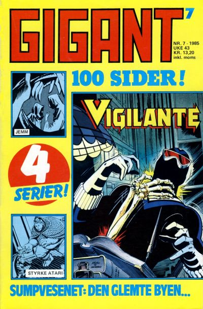 Cover for Gigant (Semic, 1977 series) #7/1985