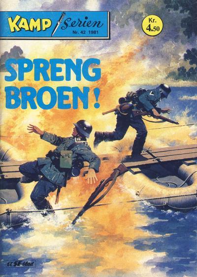 Cover for Kamp-serien (Serieforlaget / Se-Bladene / Stabenfeldt, 1964 series) #42/1981