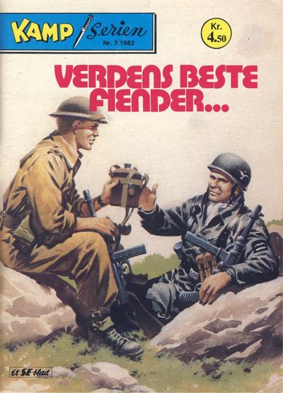 Cover for Kamp-serien (Serieforlaget / Se-Bladene / Stabenfeldt, 1964 series) #7/1982
