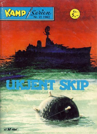 Cover for Kamp-serien (Serieforlaget / Se-Bladene / Stabenfeldt, 1964 series) #21/1982