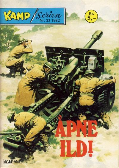 Cover for Kamp-serien (Serieforlaget / Se-Bladene / Stabenfeldt, 1964 series) #23/1982