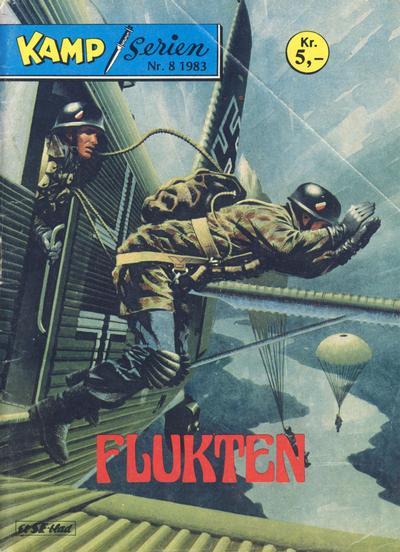 Cover for Kamp-serien (Serieforlaget / Se-Bladene / Stabenfeldt, 1964 series) #8/1983