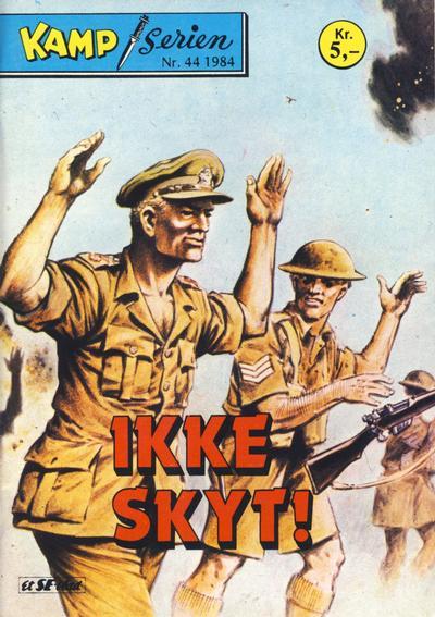 Cover for Kamp-serien (Serieforlaget / Se-Bladene / Stabenfeldt, 1964 series) #44/1984