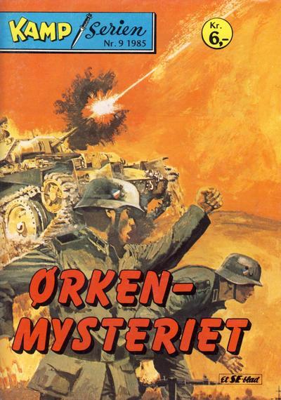 Cover for Kamp-serien (Serieforlaget / Se-Bladene / Stabenfeldt, 1964 series) #9/1985