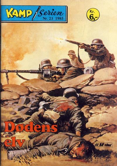 Cover for Kamp-serien (Serieforlaget / Se-Bladene / Stabenfeldt, 1964 series) #23/1985