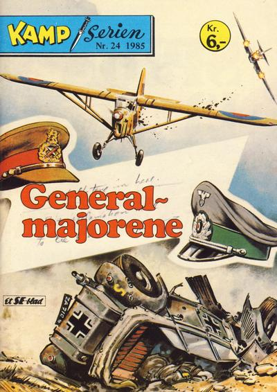 Cover for Kamp-serien (Serieforlaget / Se-Bladene / Stabenfeldt, 1964 series) #24/1985