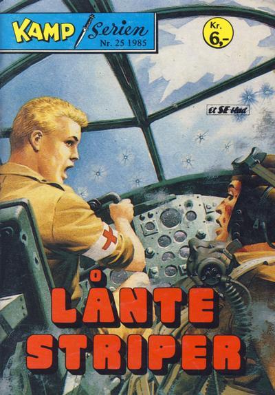 Cover for Kamp-serien (Serieforlaget / Se-Bladene / Stabenfeldt, 1964 series) #25/1985