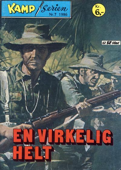 Cover for Kamp-serien (Serieforlaget / Se-Bladene / Stabenfeldt, 1964 series) #7/1986