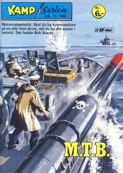 Cover for Kamp-serien (Serieforlaget / Se-Bladene / Stabenfeldt, 1964 series) #15/1986