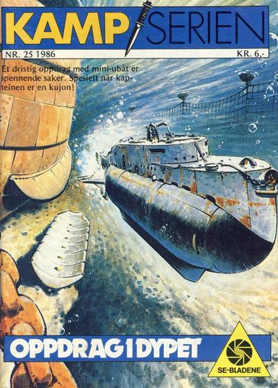 Cover for Kamp-serien (Serieforlaget / Se-Bladene / Stabenfeldt, 1964 series) #25/1986