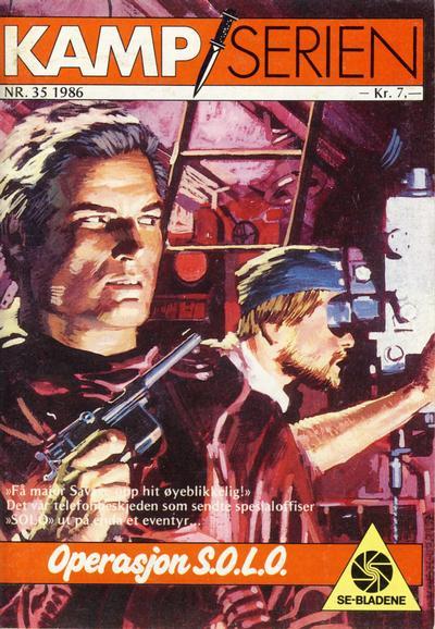Cover for Kamp-serien (Serieforlaget / Se-Bladene / Stabenfeldt, 1964 series) #35/1986