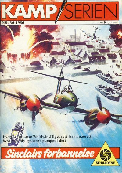 Cover for Kamp-serien (Serieforlaget / Se-Bladene / Stabenfeldt, 1964 series) #36/1986
