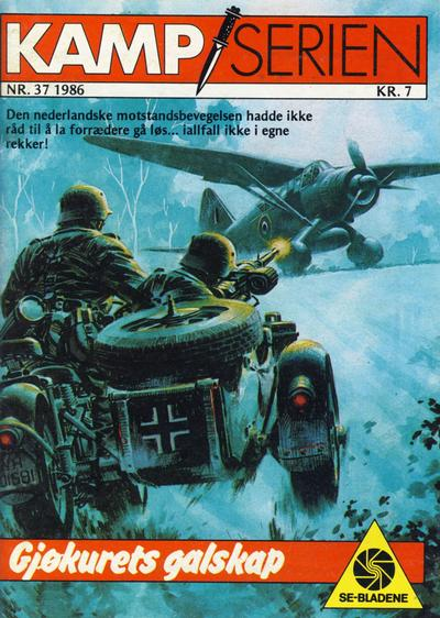 Cover for Kamp-serien (Serieforlaget / Se-Bladene / Stabenfeldt, 1964 series) #37/1986