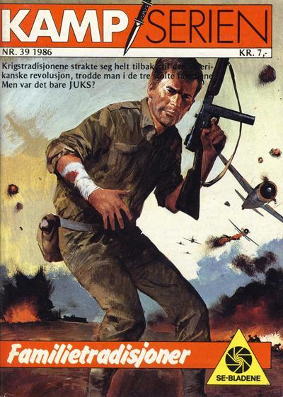 Cover for Kamp-serien (Serieforlaget / Se-Bladene / Stabenfeldt, 1964 series) #39/1986