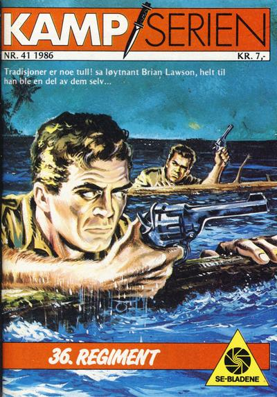 Cover for Kamp-serien (Serieforlaget / Se-Bladene / Stabenfeldt, 1964 series) #41/1986
