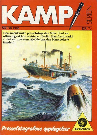 Cover for Kamp-serien (Serieforlaget / Se-Bladene / Stabenfeldt, 1964 series) #50/1986