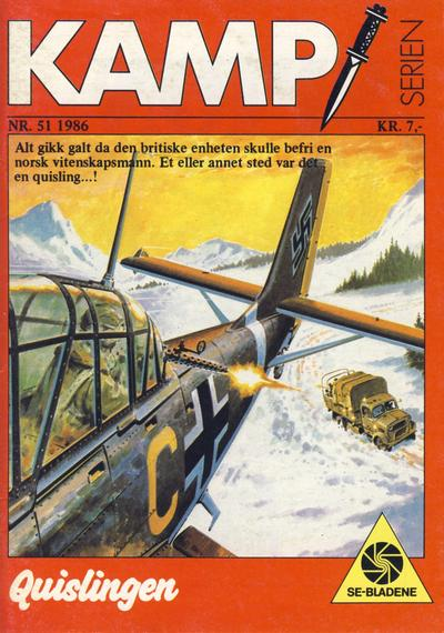 Cover for Kamp-serien (Serieforlaget / Se-Bladene / Stabenfeldt, 1964 series) #51/1986