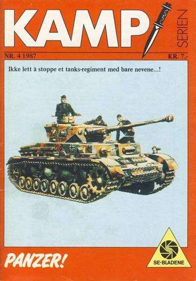 Cover for Kamp-serien (Serieforlaget / Se-Bladene / Stabenfeldt, 1964 series) #4/1987