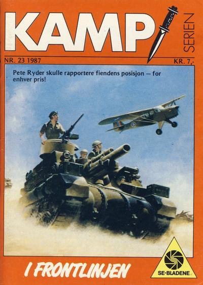 Cover for Kamp-serien (Serieforlaget / Se-Bladene / Stabenfeldt, 1964 series) #23/1987