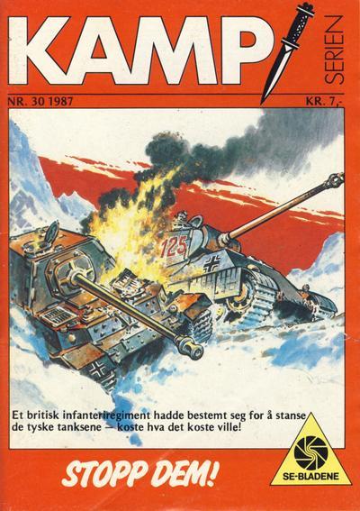 Cover for Kamp-serien (Serieforlaget / Se-Bladene / Stabenfeldt, 1964 series) #30/1987