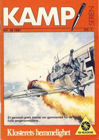 Cover for Kamp-serien (Serieforlaget / Se-Bladene / Stabenfeldt, 1964 series) #38/1987