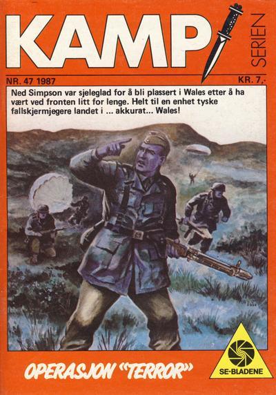 Cover for Kamp-serien (Serieforlaget / Se-Bladene / Stabenfeldt, 1964 series) #47/1987