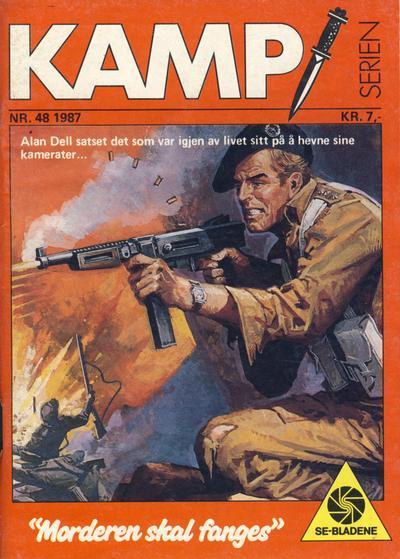 Cover for Kamp-serien (Serieforlaget / Se-Bladene / Stabenfeldt, 1964 series) #48/1987