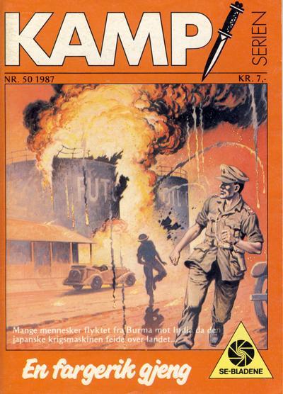 Cover for Kamp-serien (Serieforlaget / Se-Bladene / Stabenfeldt, 1964 series) #50/1987
