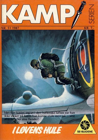 Cover for Kamp-serien (Serieforlaget / Se-Bladene / Stabenfeldt, 1964 series) #51/1987